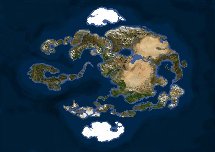 Avatar World Map Alternate Universe Avatar World Avatar Avatar
