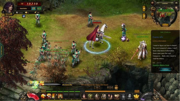 Storm Riders is a 2D, Browser Free-to-play, Role-Playing MMO