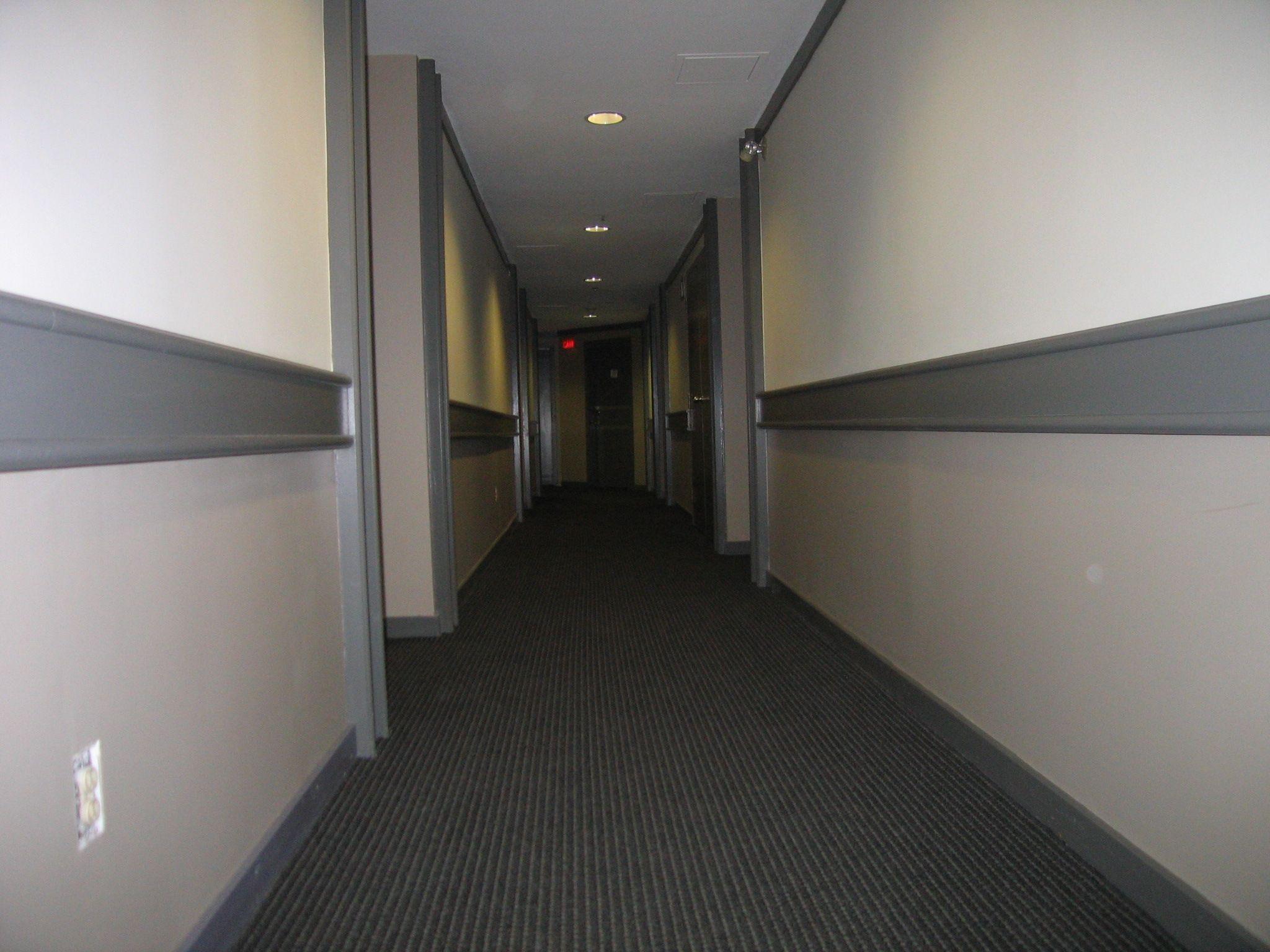 Condminium hallways kitsilano condo interior colour make for Interior designs for hallways