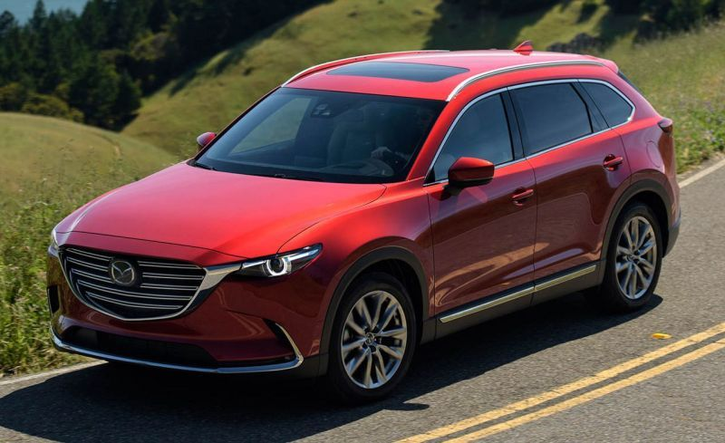 New 2020 Mazda Cx 9 Is Wearing A Popular Soul Of Motion Design Mazda Cx 9 Mazda New Suv