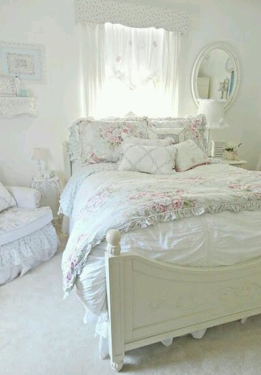 Chambre Style Shabby Chic cool 60 romantic shabby chic bedroom decorating ideas | déco