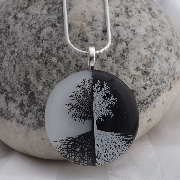 Yin yang tree meaning ying yang tree of life pendant creations by yin yang tree meaning ying yang tree of life pendant creations by mozeypictures Image collections