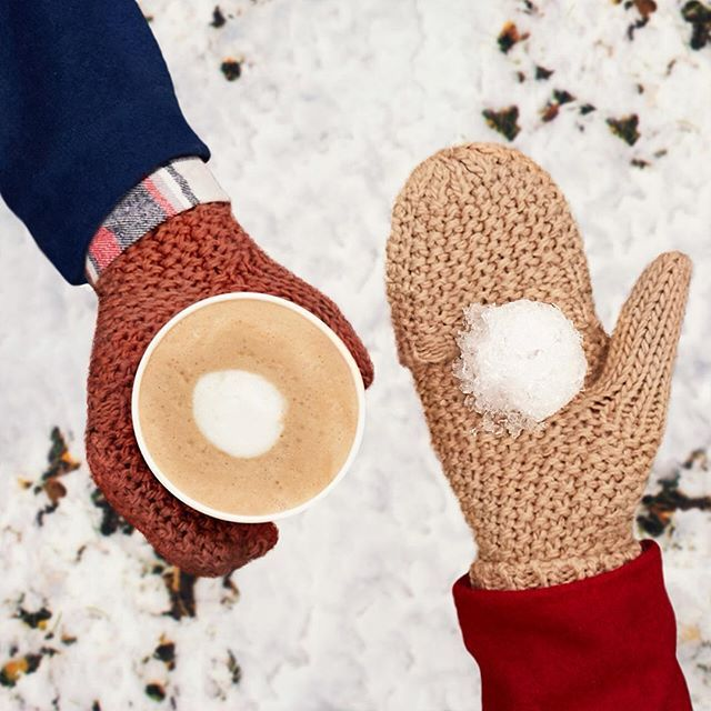What's more heartwarming: the sight of the season's first snow or the taste of the season's new sip?