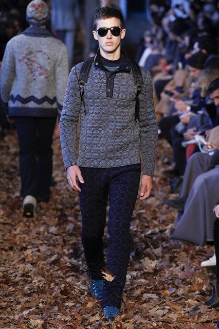 Catwalk photos and all the looks from Missoni Autumn/Winter 2016-17 Menswear Milan Fashion Week