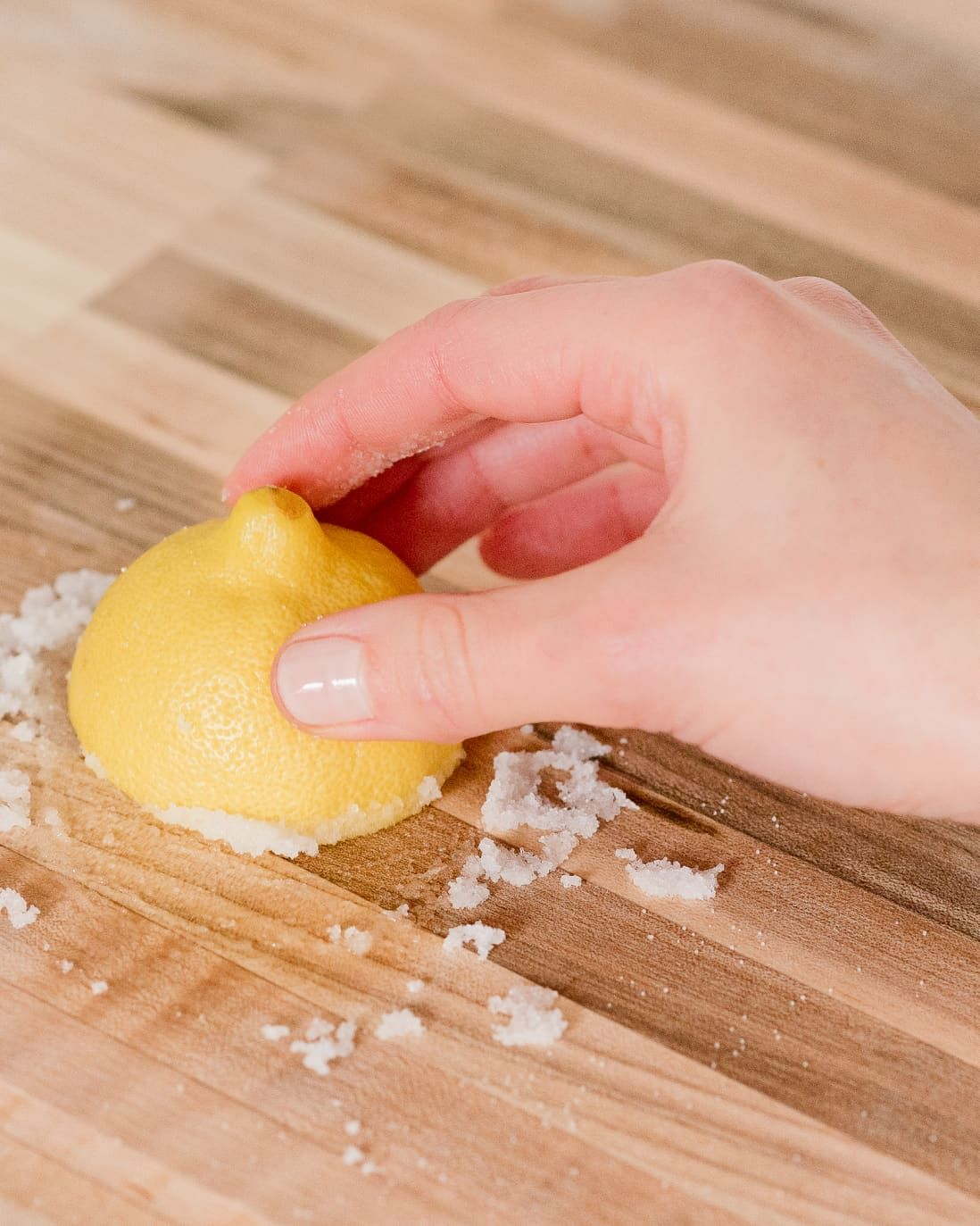 How to remove stains from butcher block countertops in