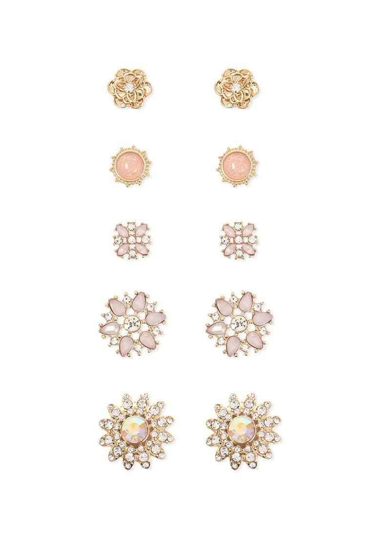 Product Name:Faux Gem Studs, Category:ACC, Price:5.9   Gem