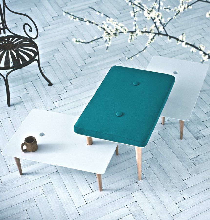 Rectangular coffee table A SONG FOR YOU By Saba Italia design Paolo ...