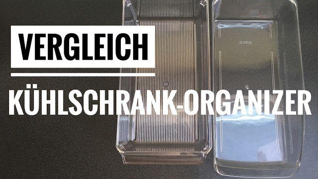 Kühlschrank Organizer : Vergleich von einem günstigem und einem teureren kühlschrank