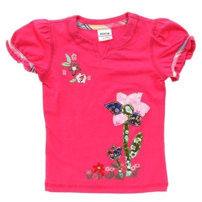 hot pink bright tee. Fushcia Flower Tshirt-K3791-Fushcia $14.00 on Ozsale.com.au