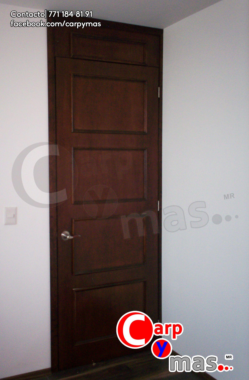 Puerta tambor con molduras calidad carpymas puertas for Puertas de tambor modernas