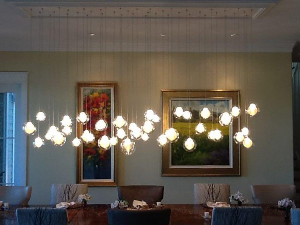 Sala da pranzo foto contemporaneo sala da pranzo lampadari di ben