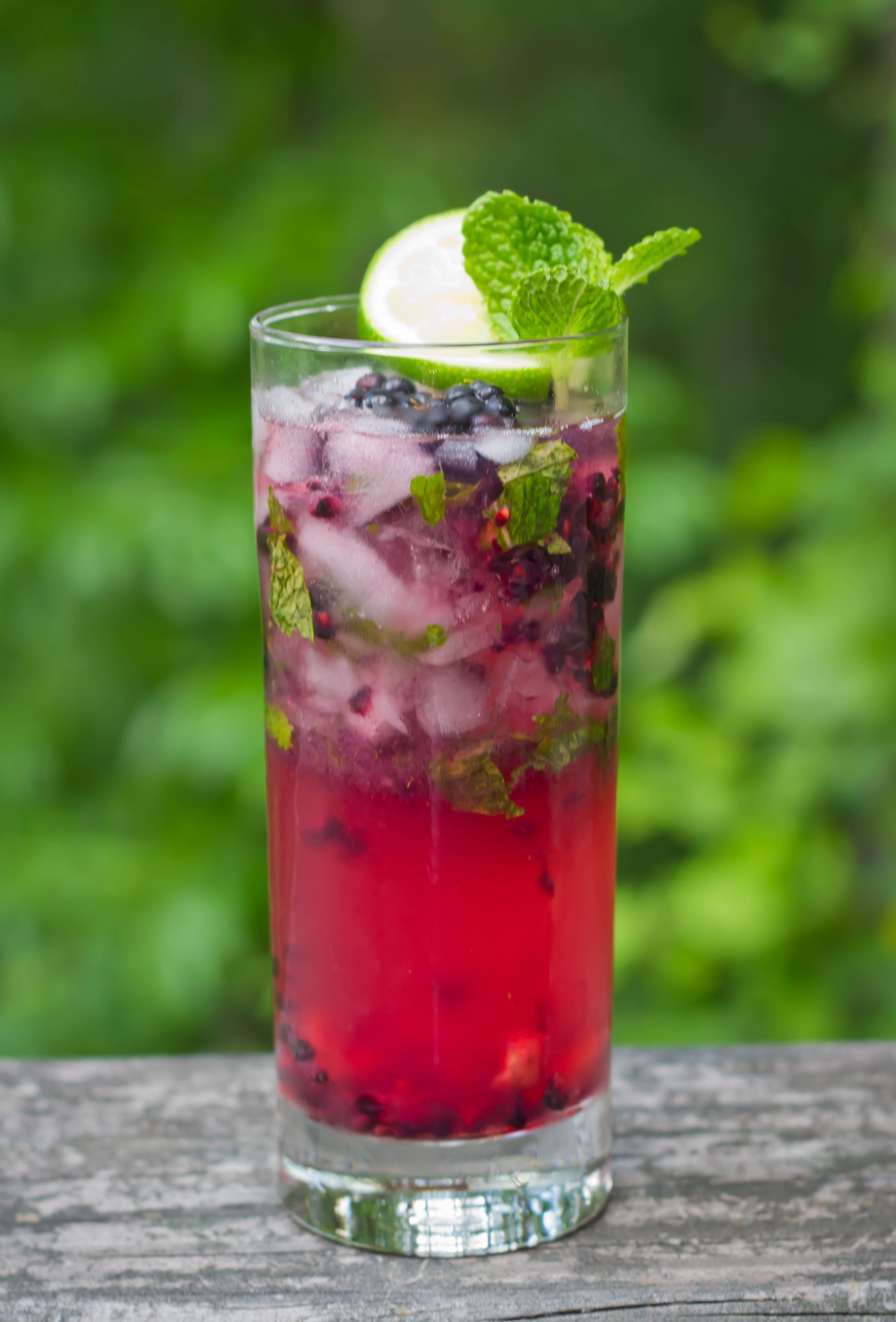 blackberry mojito drinks pinterest mojito