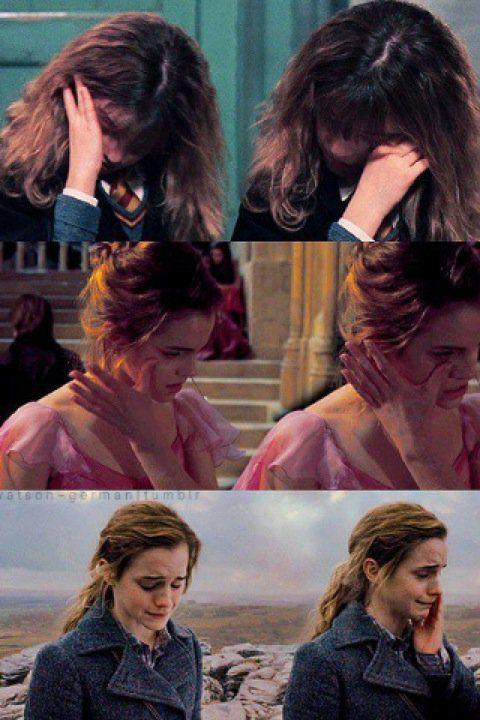 Ron tonto , la hiciste llorar mucho pero no importa al final recapacitaste