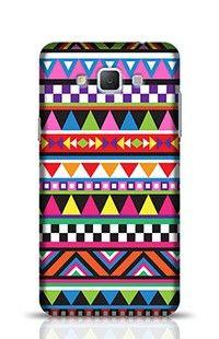 Tribal Colorful Geometric Pattern Samsung Galaxy A5 Phone Case