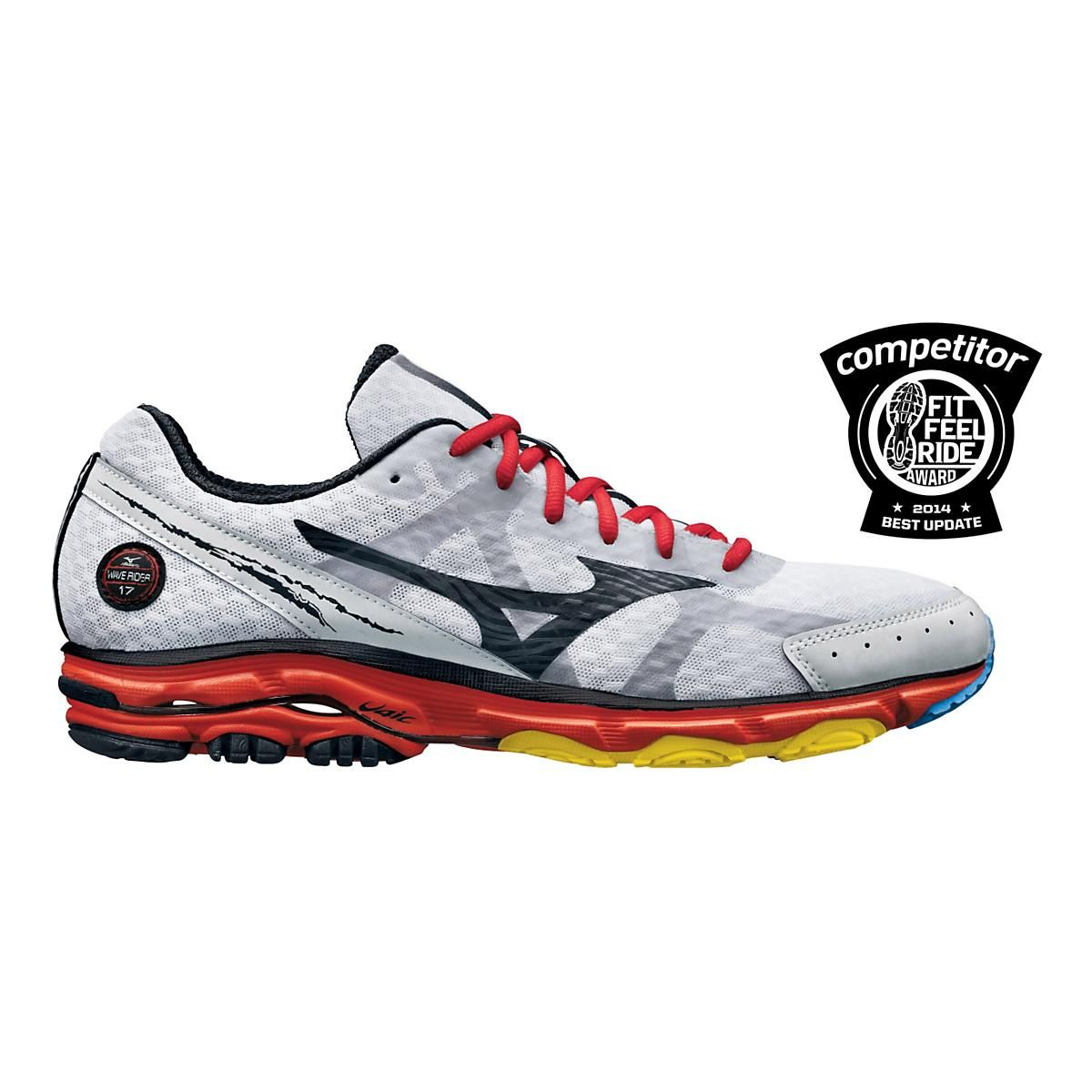 mizuno men's wave rider 17 running shoe
