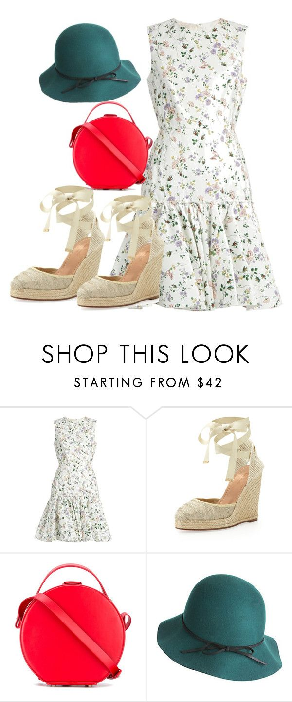"""..."" by gabriela-costa-carneiro ❤ liked on Polyvore featuring beauty, Giambattista Valli, Kate Spade, Nico Giani and Goorin"