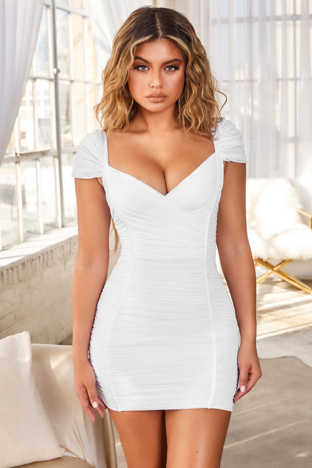 Live The Dream Ruched Bodycon Mini Dress Oh Polly Shop Short Dresses Mini Dress Short Mini Dress [ 1500 x 1000 Pixel ]