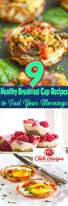 9 Healthy Breakfast Cup Recipes to Fuel Your Mornings #healthy_breakfast