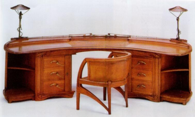 Henry Van De Velde 1899 Art Nouveau Design Art Nouveau