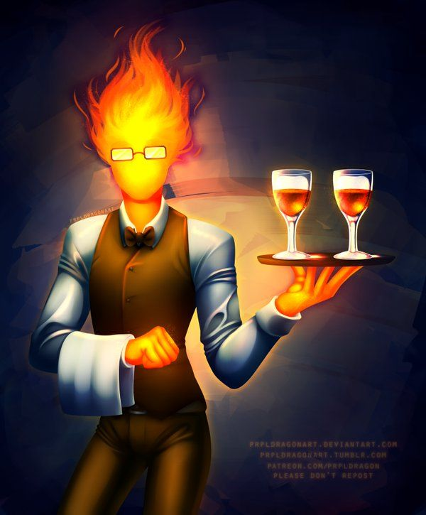 grillby undertale - Google Search