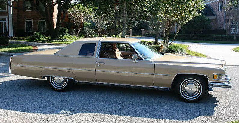 Pin on 197476 Cadillac Calais & deVille