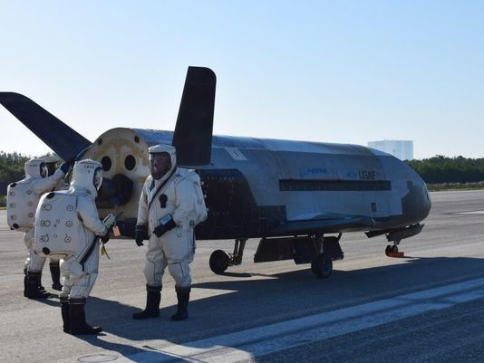 Sonic Bomb Wakes Up Florida Residents as Air Force X-37B ...