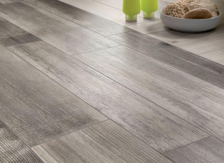 Tile That Looks Like Hardwood Floor Medium Grey Wooden Tiles Closeup