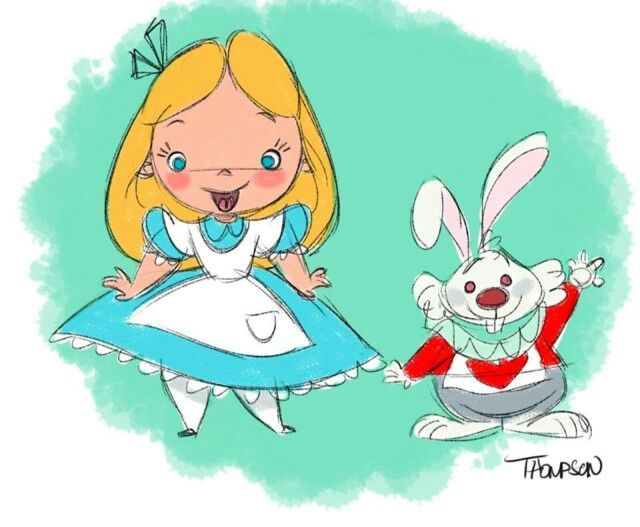 Alicia y Señor Conejo