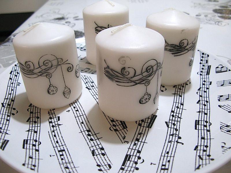 Hyypiön elämää: Stamped candles