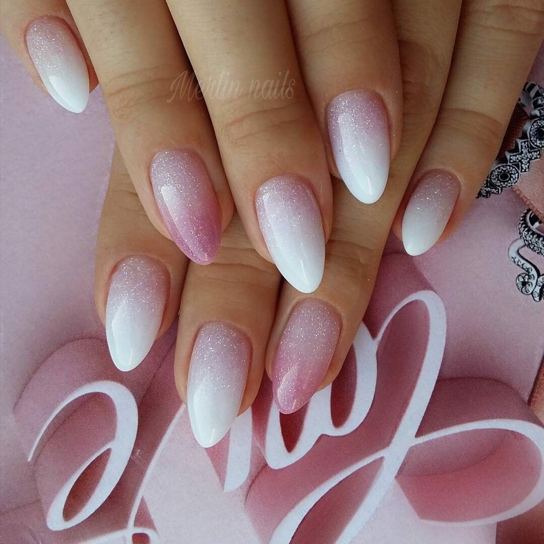 French Nägel Pin Von Iliana Blanco Auf Uña In 2019 Nails Oval Nails