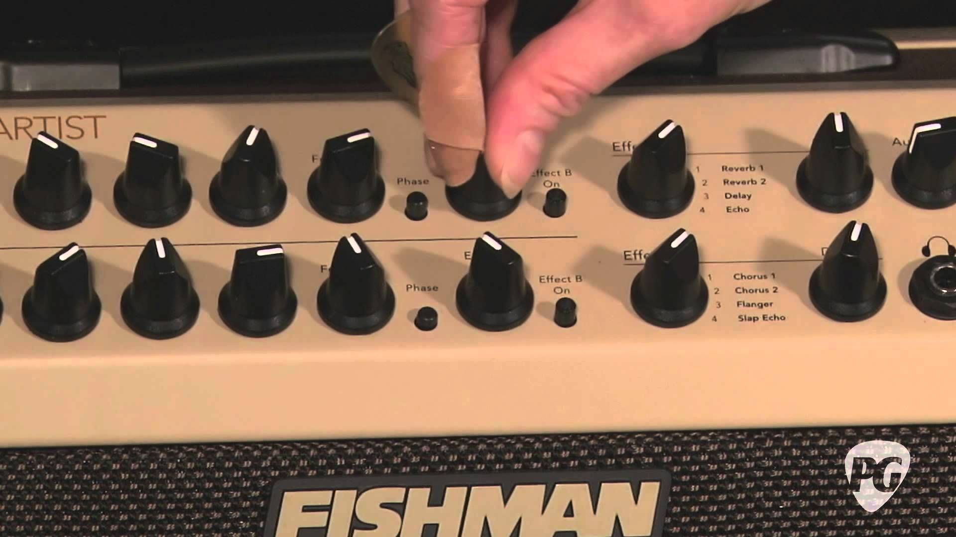 Video review fishman loudbox artist acoustic amp