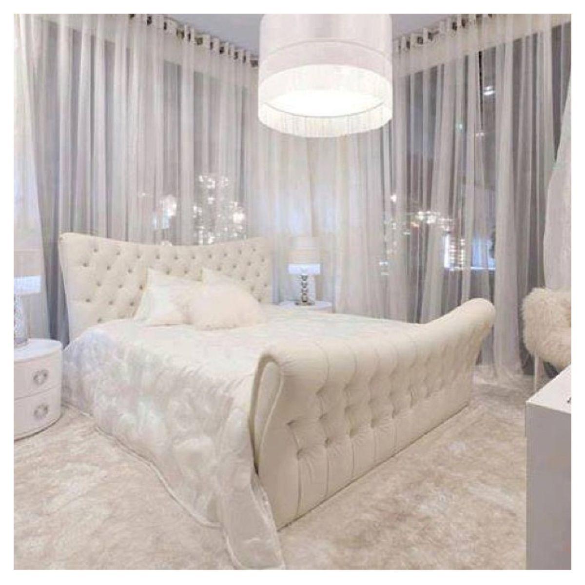 White bedroom ideas for women - All White Bedroom Very Yang