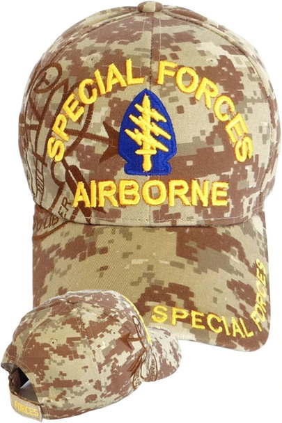 27fd278b8 Special Forces Airborne Shadow Cap - Desert Digital Camo in 2019 ...