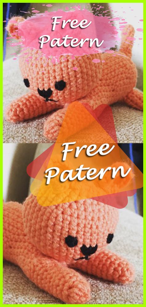 Cats Crochet Amigurumi Pattern Free Needle Work Crochet Patterns