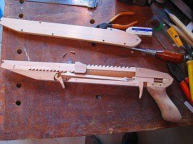 Rubber Band Gun 2 Wood Toys Rubber Band Gun Rubber