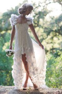 Vestido de casamento de conto de fadas ...