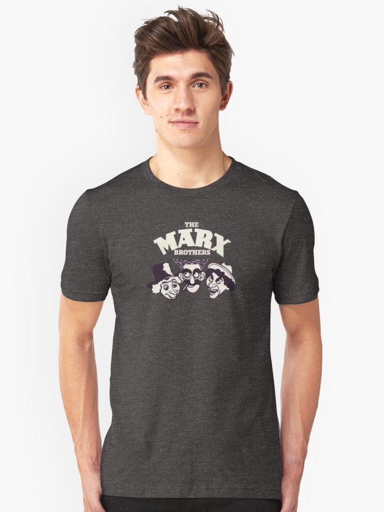 The Marx Brothers T-Shirt by MotherSky