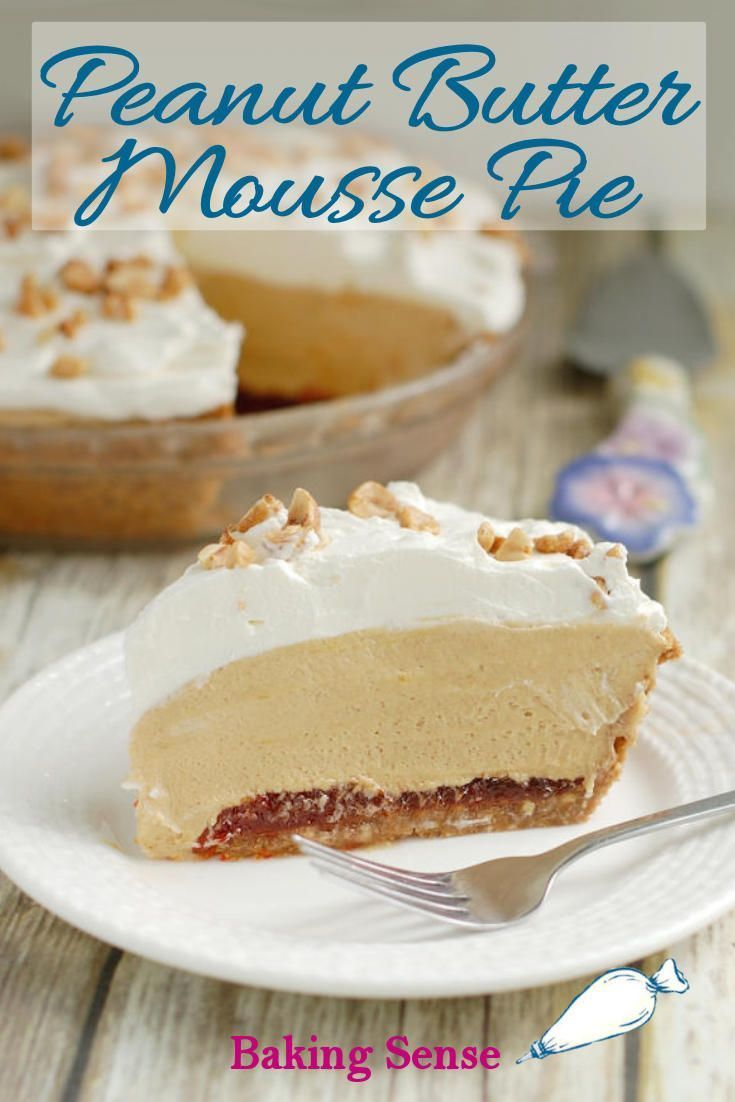 Food Photography - Peanut Butter Mousse Pie Food Photography - Peanut Butter Mousse Pie