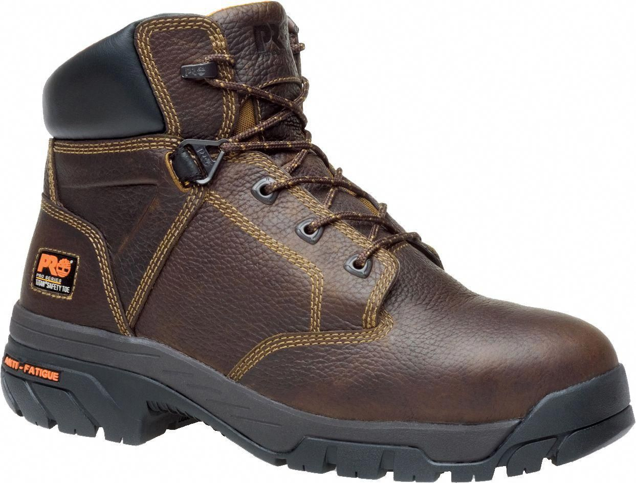 Timberland PRO Men's Helix 6'' Alloy Toe Work Boots, Size
