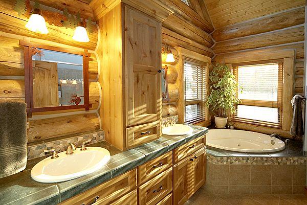 1000 Images About Bathroom On Pinterest   Deer Hunting Decor. Log Home Bathroom Pictures   Rukinet com