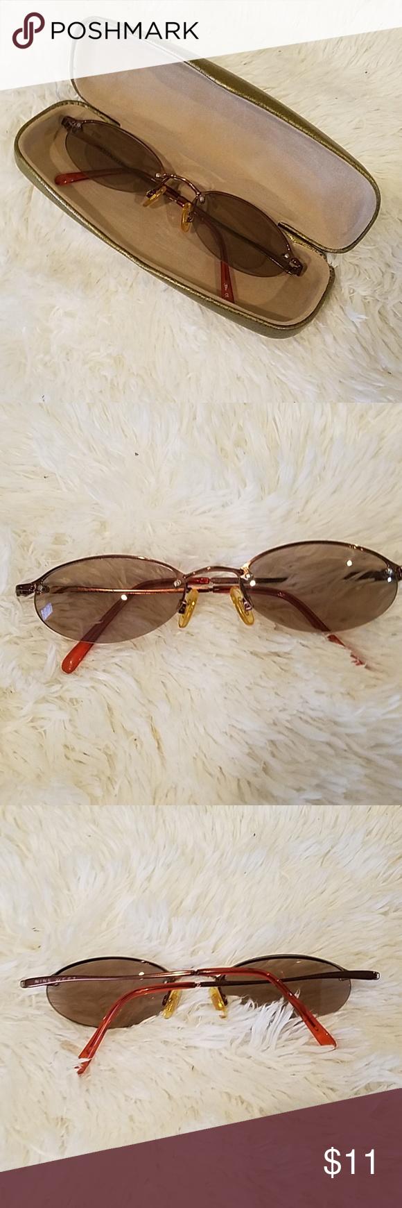 e63aa655cb Nine West Vintage Sunglasses Nine West bronze wire frame sunglasses.  Excellent condition