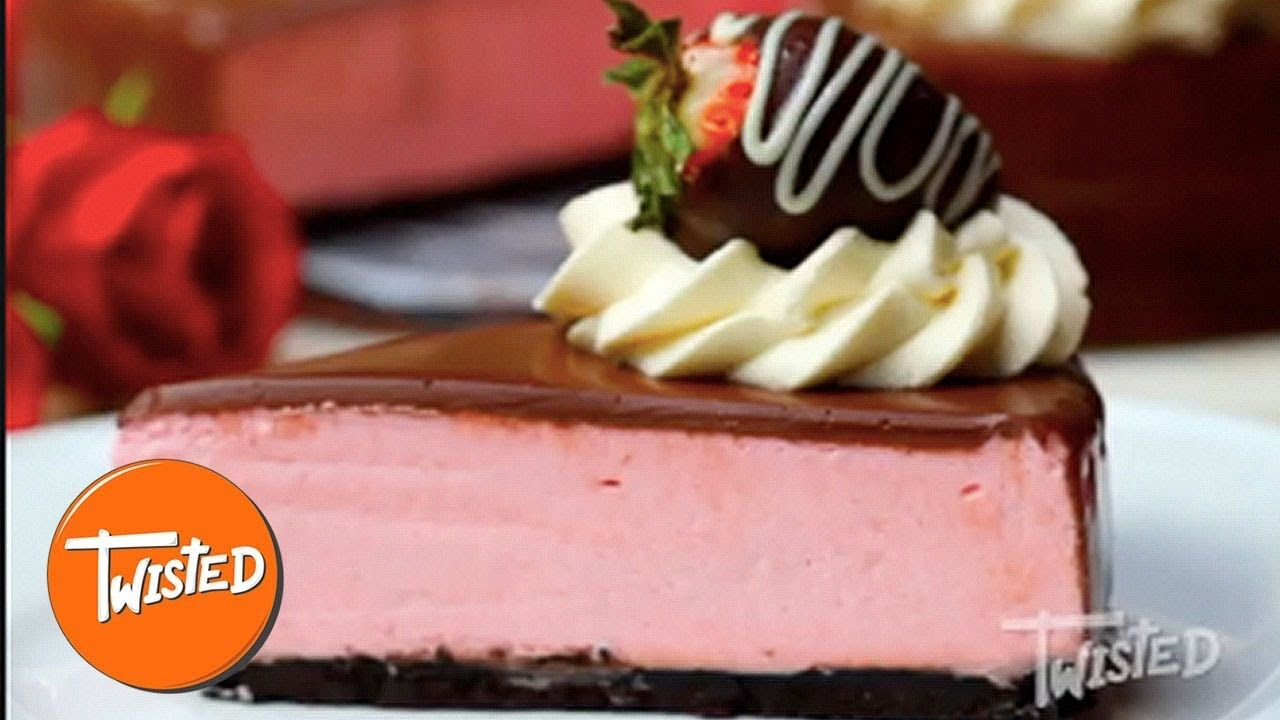 Chocolate covered strawberry mousse cake recipe mousse