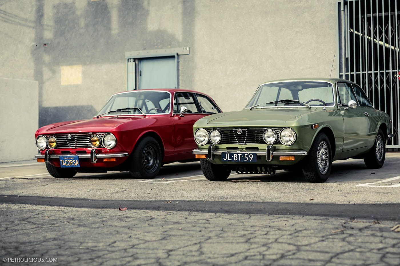 A Tale Of Two Gtvs Classic Cars Alfa Romeo Best Classic Cars