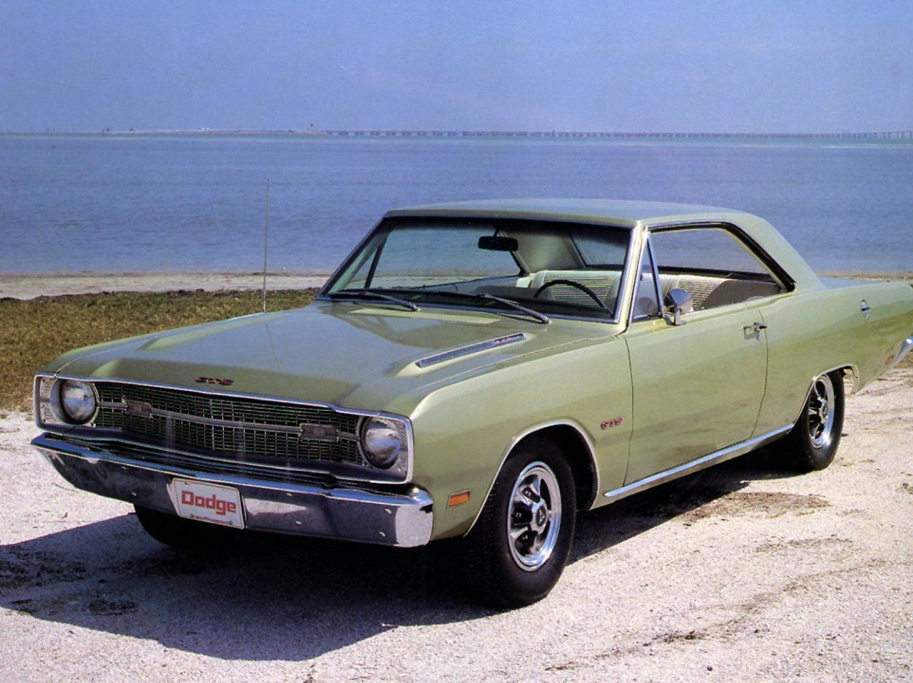 1969 Dodge Dart Gts 340 Green Maintenance Restoration Of Old