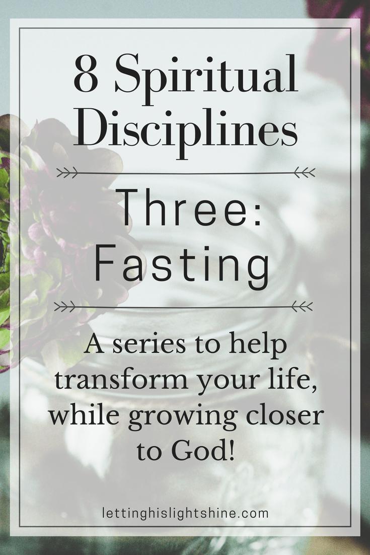 8 Spiritual Disciplines: Three-Fasting | war room | Spiritual