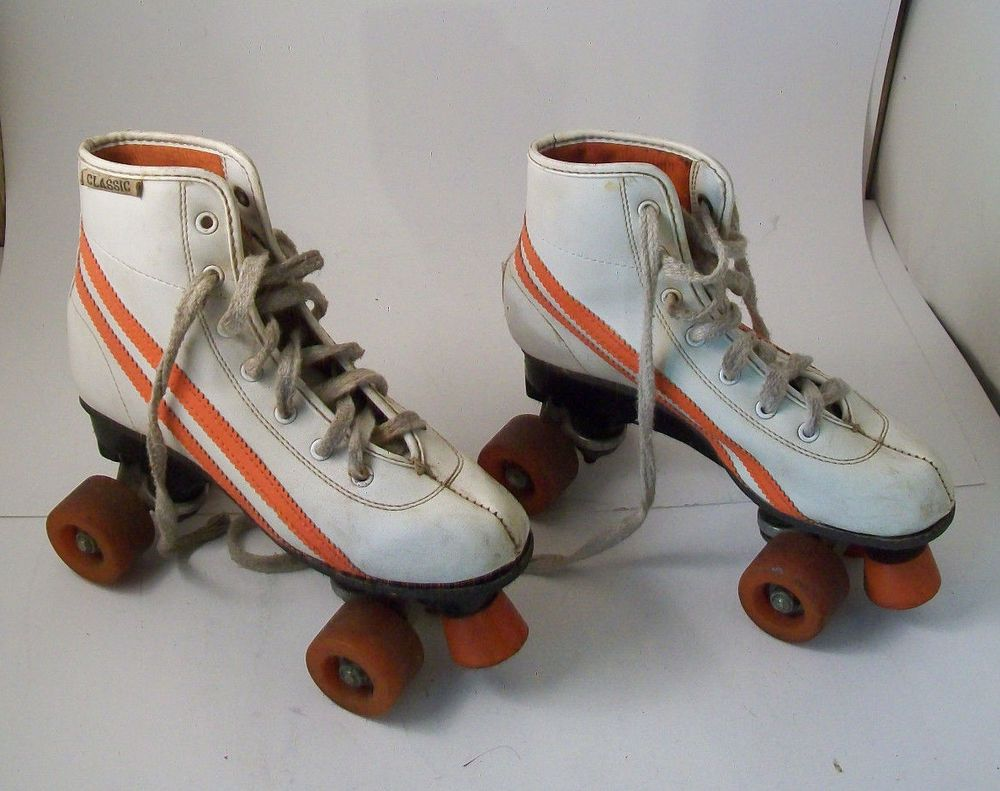 Roller tennis shoes - Vintage Roller Skates Rally Size 5 Brookfield