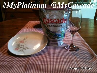 Sparkling China and Wine Glasses with #MyPlatinum Cascade  #Cascade #Dishwasher #Contest Enter the #MyPlatinum Cascade Instagram Contest.