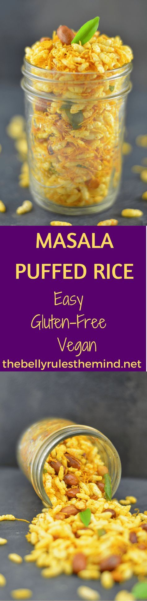 Masala Puffed Rice | Recipe | Appetizer recipes, Indian ...