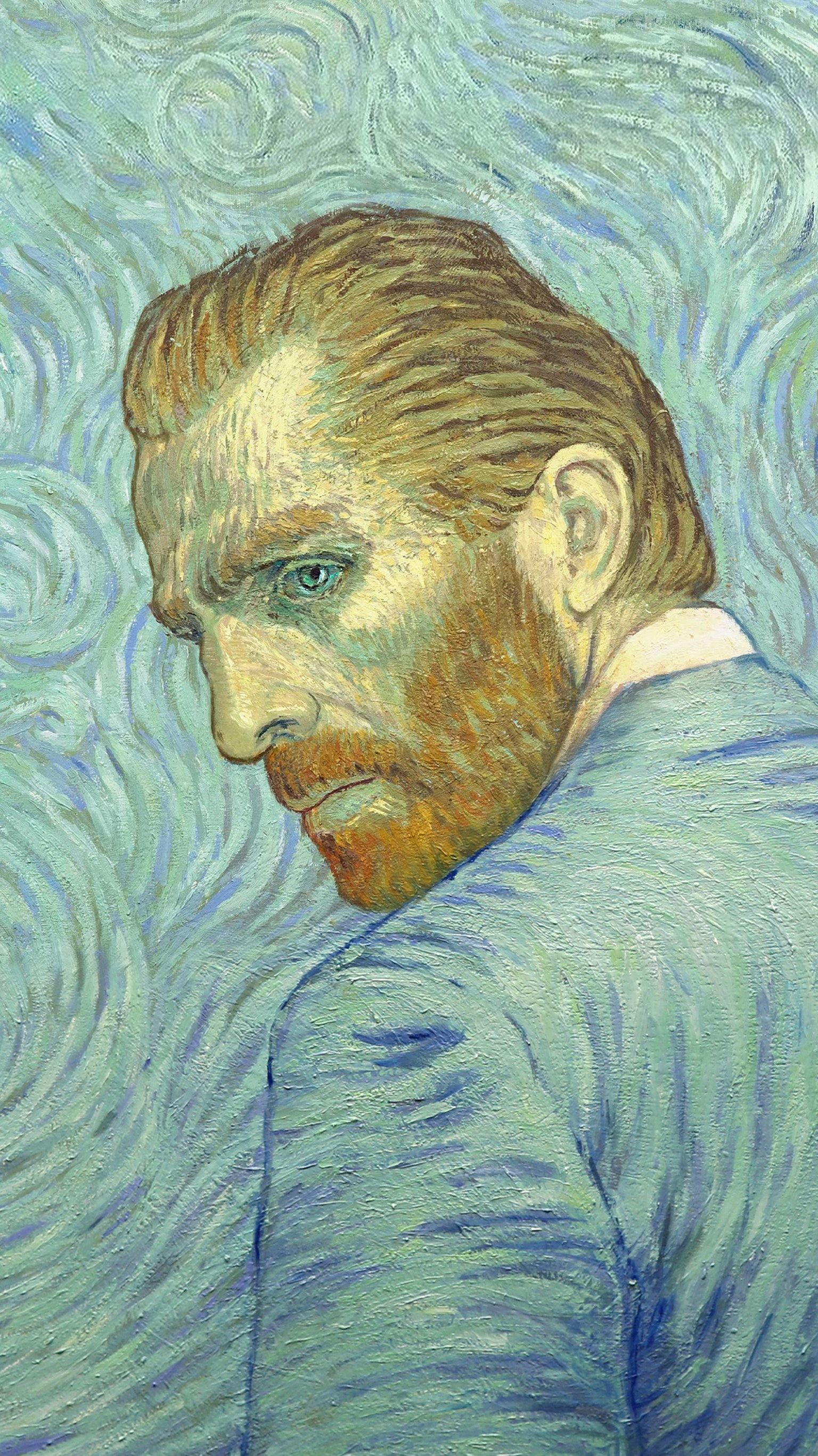 Loving Vincent 2017 Phone Wallpaper In 2019 Van Gogh Art
