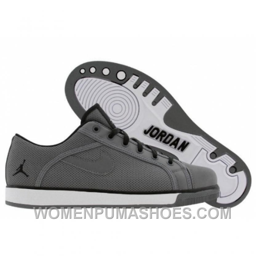 06b5b722788462 Air Jordan Sky High Retro Low Cool Grey Black White 454076-011 ...